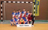 Zawodnik AP Młoda Rawia na turnieju okręgów U-10