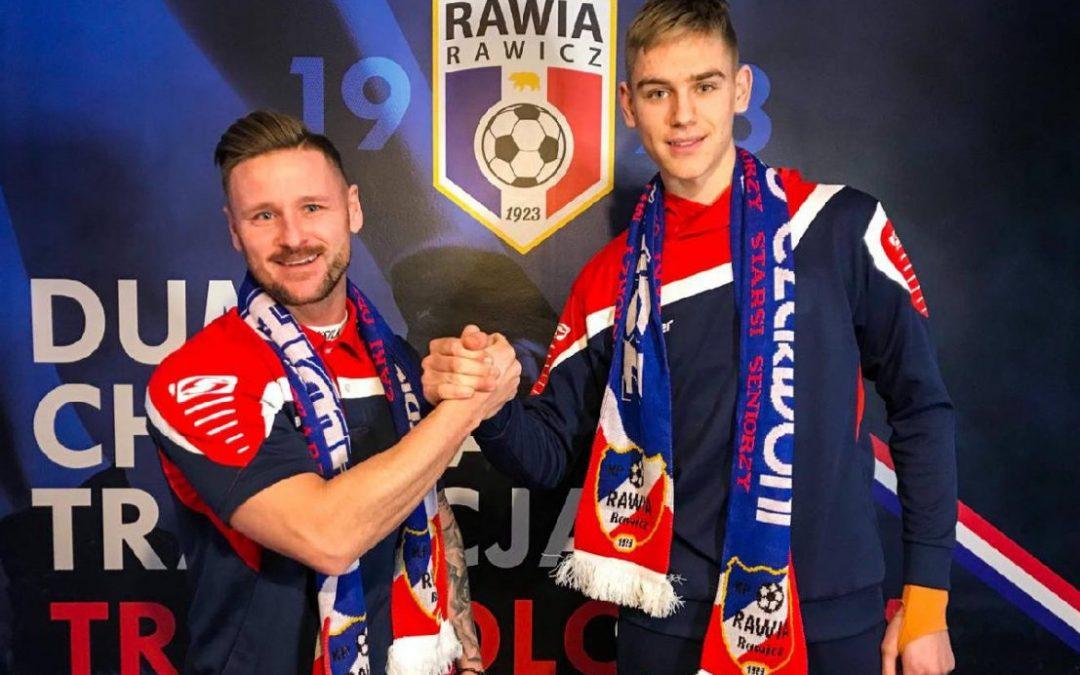 Dawid Konopka nowym bramkarzem Rawii!
