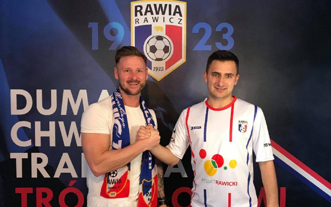 Kamil Kubiak piłkarzem Rawii!