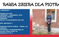 Rawia pomaga Piotrowi z Komorówka