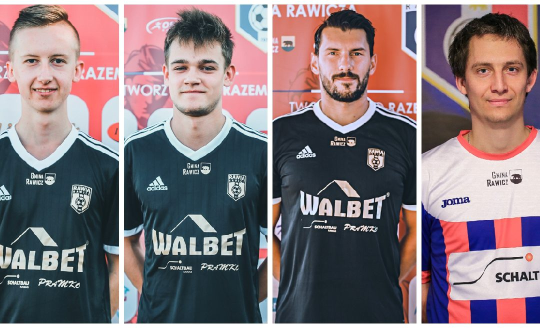 Czterech piłkarzy Rawii w Sarnowiance