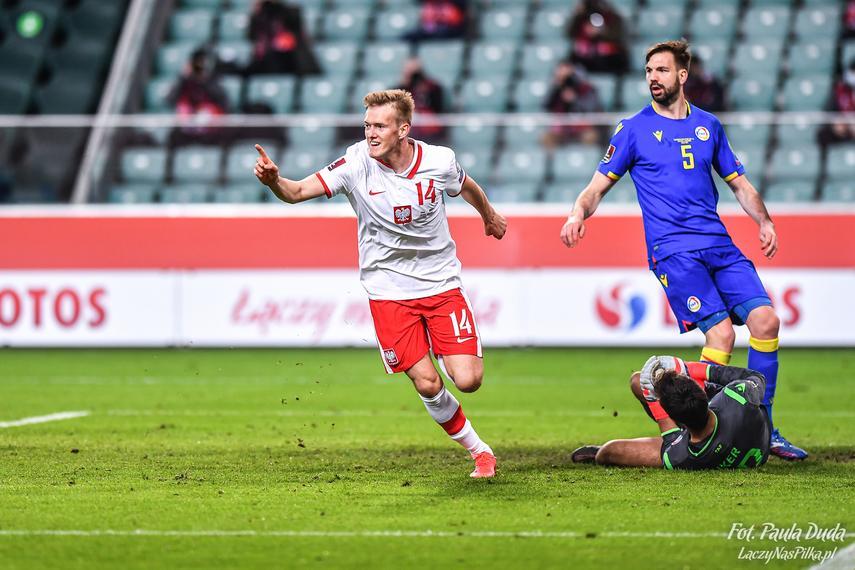 Polska – Andora 3:0. Debiut i gol Karola Świderskiego!