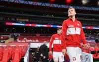 Anglia - Polska 2:1. 45 minut Karola Świderskiego