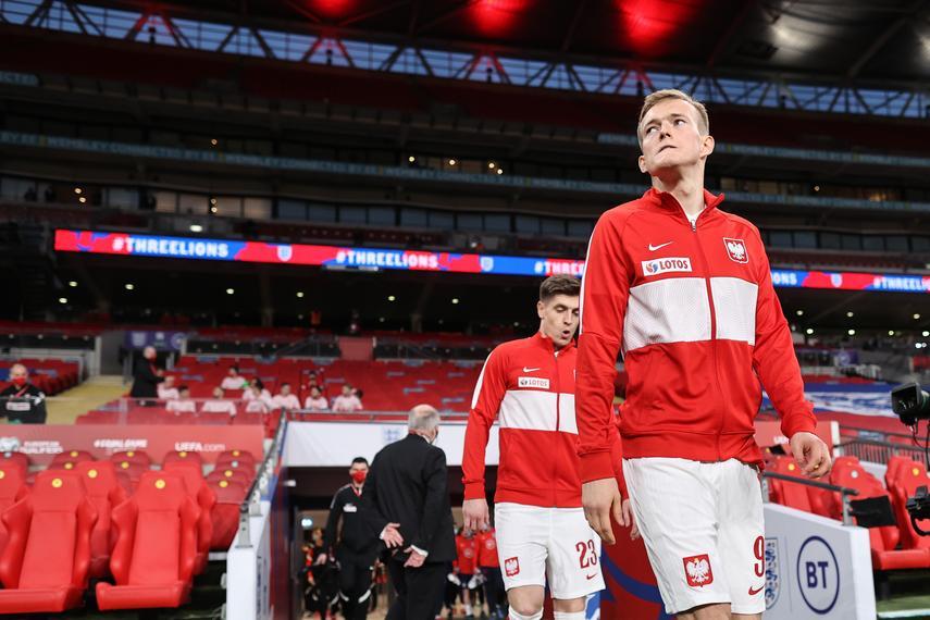 Anglia – Polska 2:1. 45 minut Karola Świderskiego