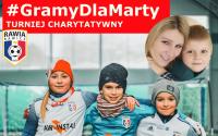 Turniej #GramyDlaMarty przełożony na 1 maja!